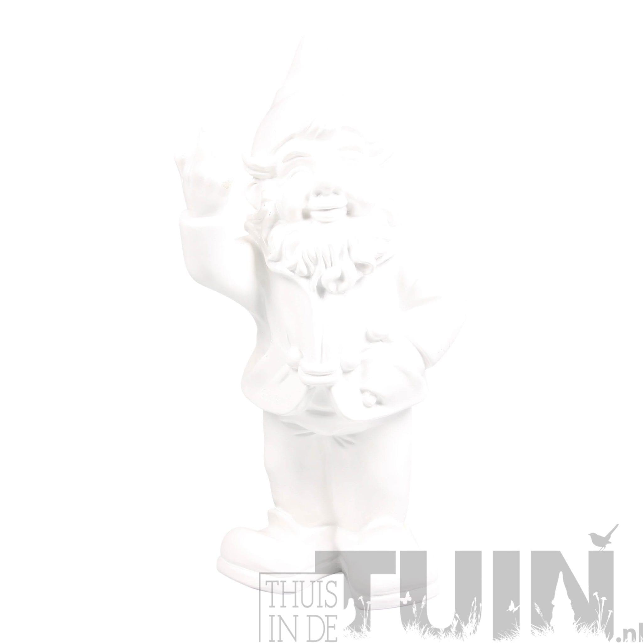 kabouter middelvinger wit