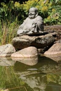 lachende dikbuik boeddha beeld