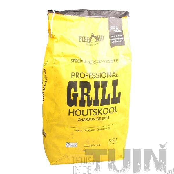 HOUTSKOOL BBQ - GRILL 4 KG ZAK