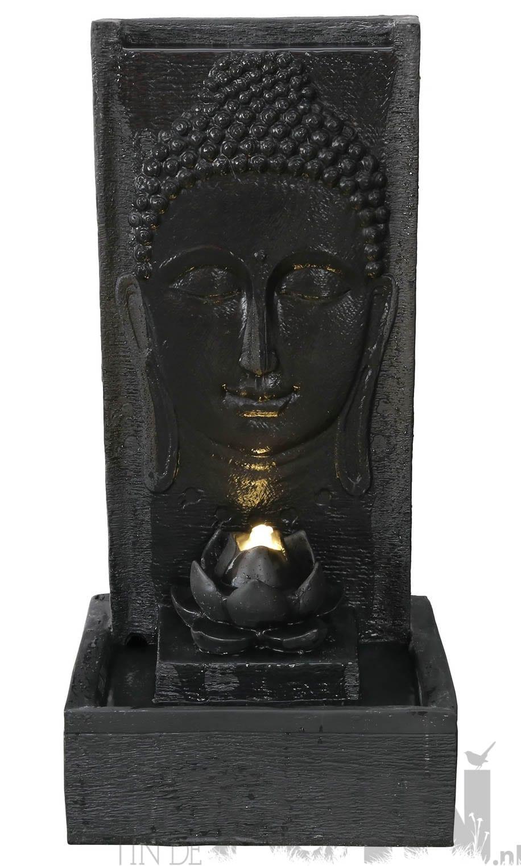 Boeddhabeeld Met Fontein.Fontein Boeddha Waterornament