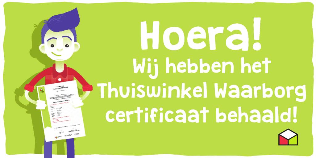 thuisindetuin.nl certificering Thuiswinkel Waarborg