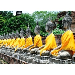 tuindoek boeddha line 210x150cm 1800145203