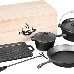 DUTCH OVEN SET GIETIJZER 7-DELIG 01