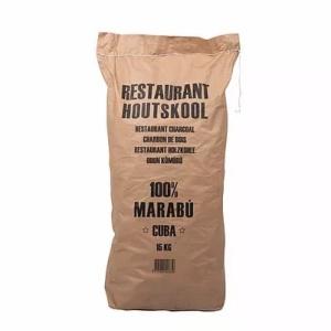 dammers restaurant houtskool marabu cuba 15 kg zak