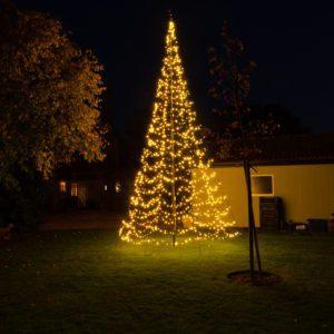 Starry Nights Kerstverlichting Vlaggenmast 400cm