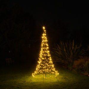 Starry Nights Vlaggenmast Kerstverlichting 200cm (MET MAST) 300 LED Warm White